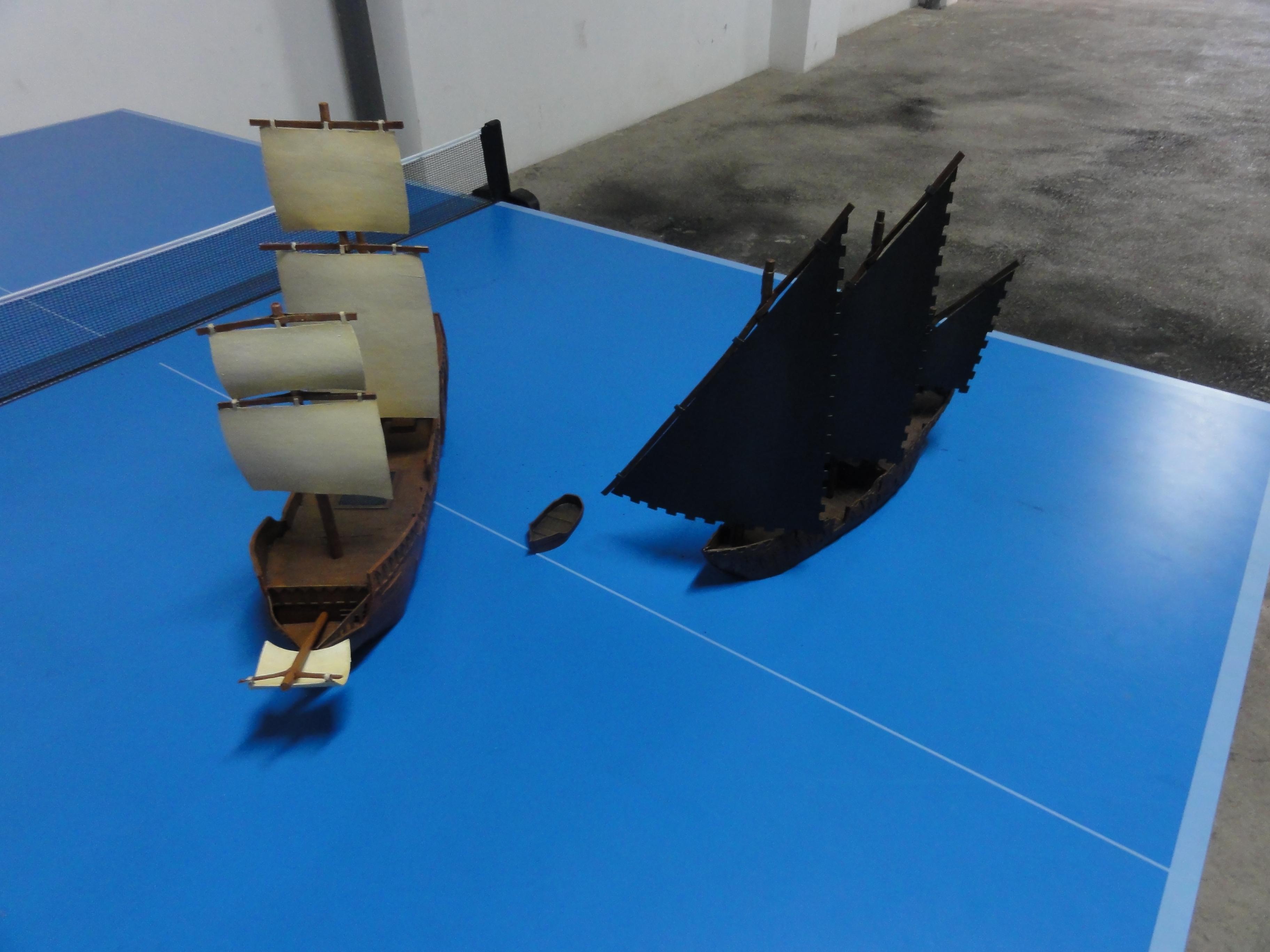 Galleon and Xebec