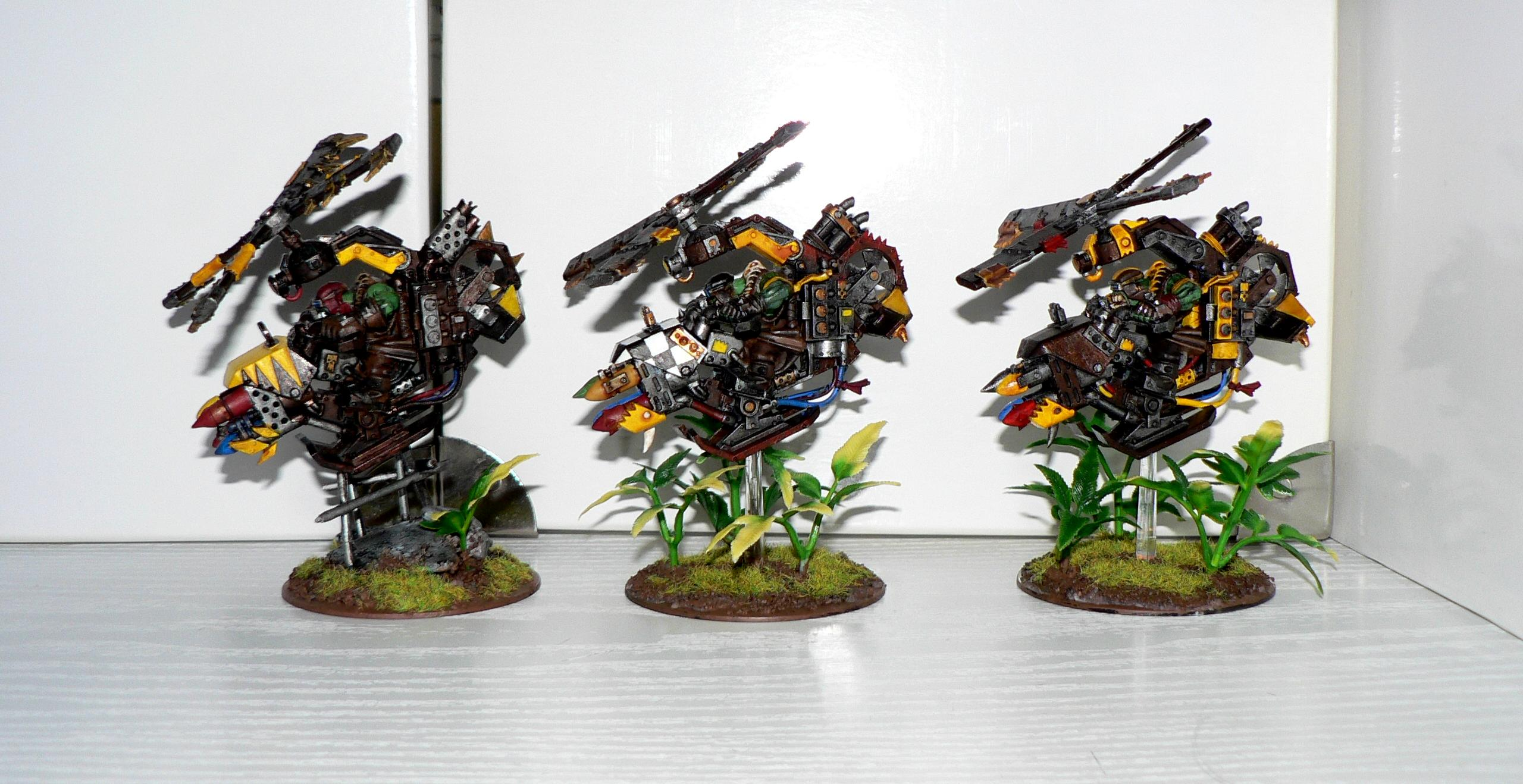 Assault On Black Reach, Bad Moons, Deffkopta, Orks