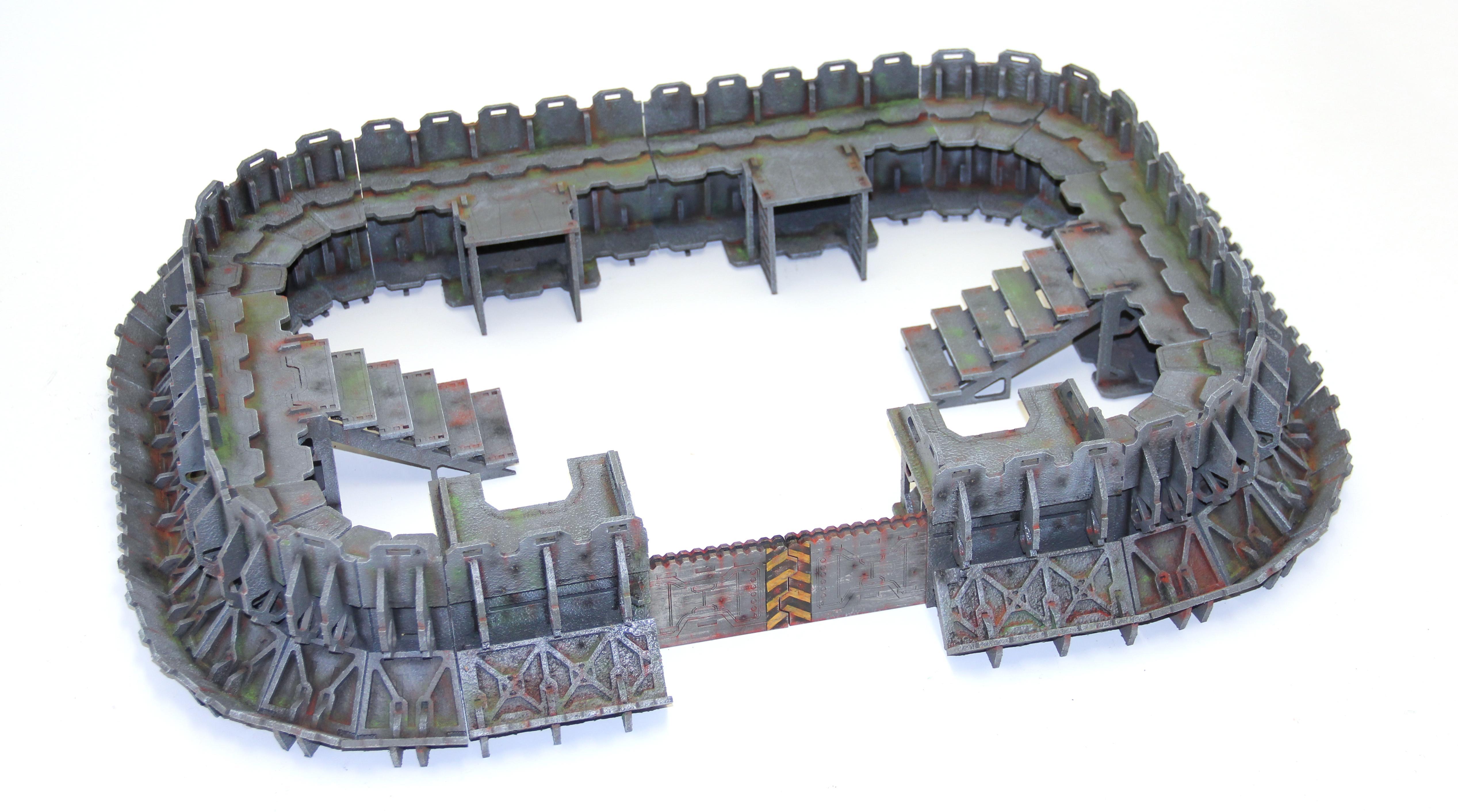 Fortress, Terrain, Warhammer 40,000