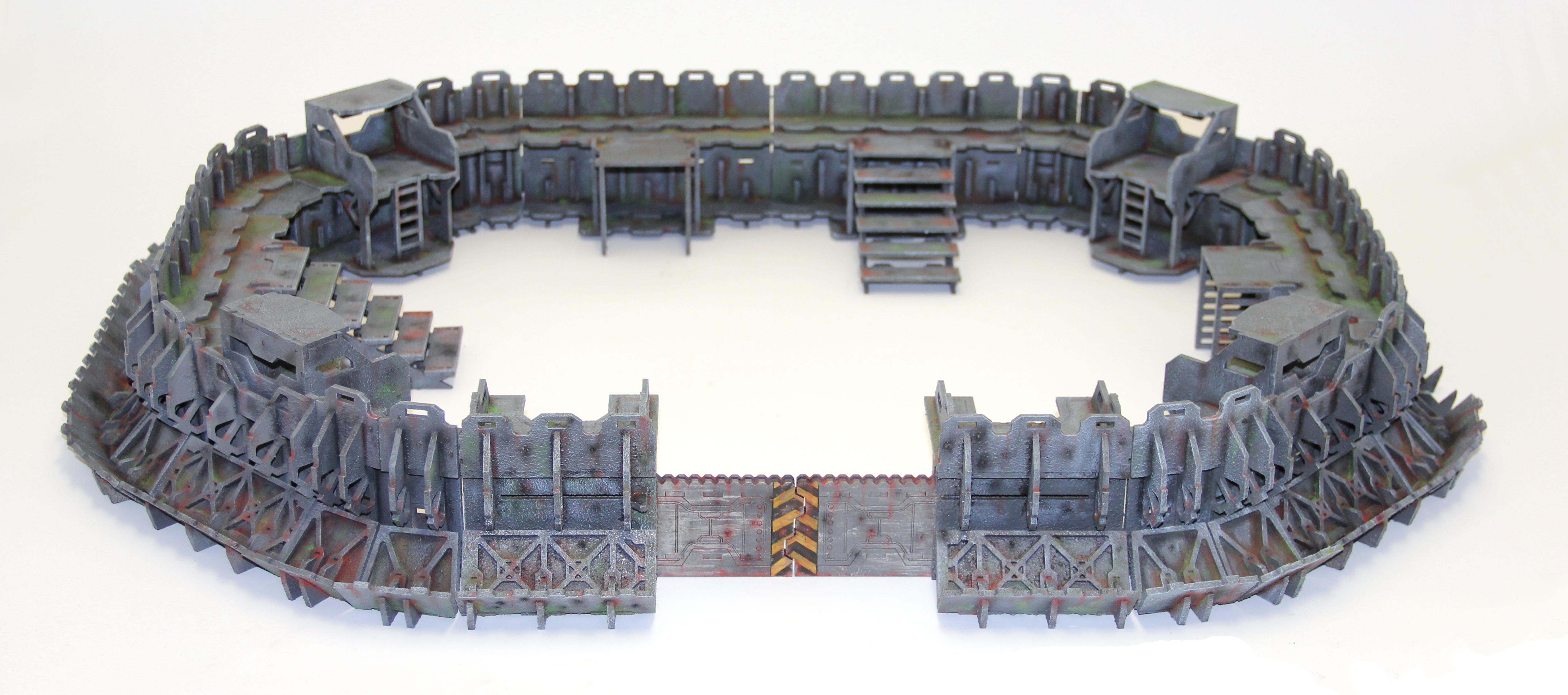 Apocalypse, Base Terrain, Emplacement, Fort, Fortress