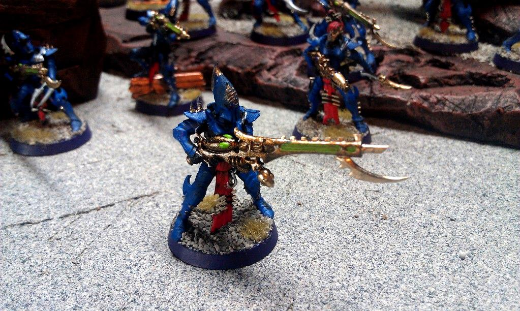 Dark Eldar, Kabalite Warrior, Splinter Cannon