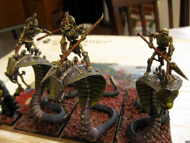 Khemri, Skeletons, Snake, Tomb Kings, Warhammer Fantasy