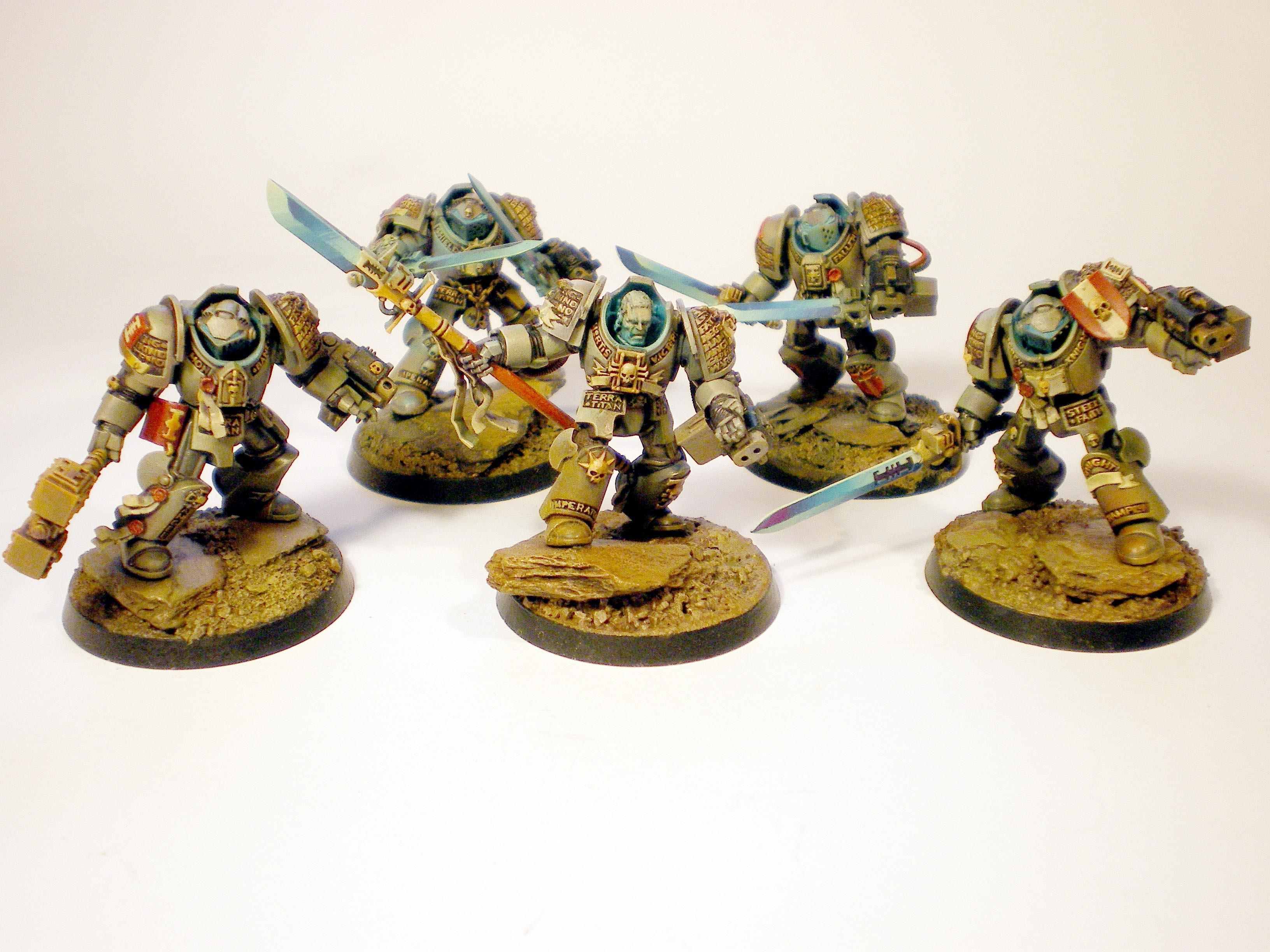 Grey Knights, Terminator Armor, Work In Progress
