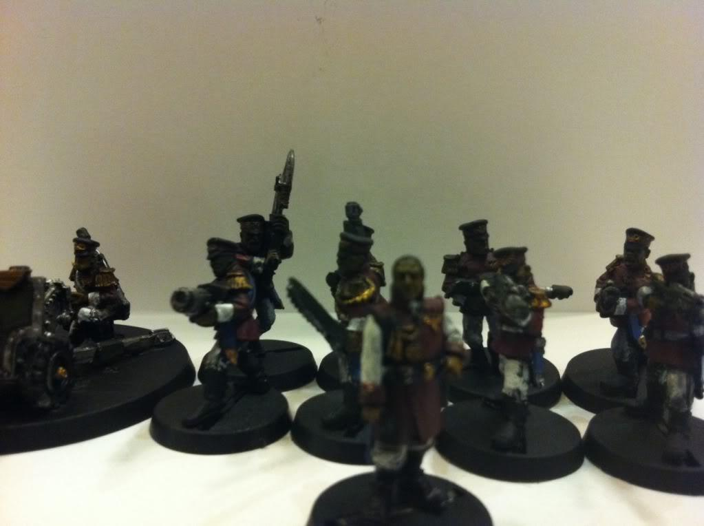 Cadians, Chimera, Commissar, Commissars, Imperial Guard, Warhammer 40,000