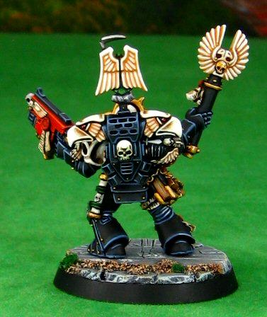 Chaplain, Dark Angels, Space Marines, Warhammer 40,000