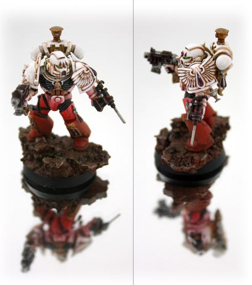 Apothecary, Blood Angels, Sanguinary Priest