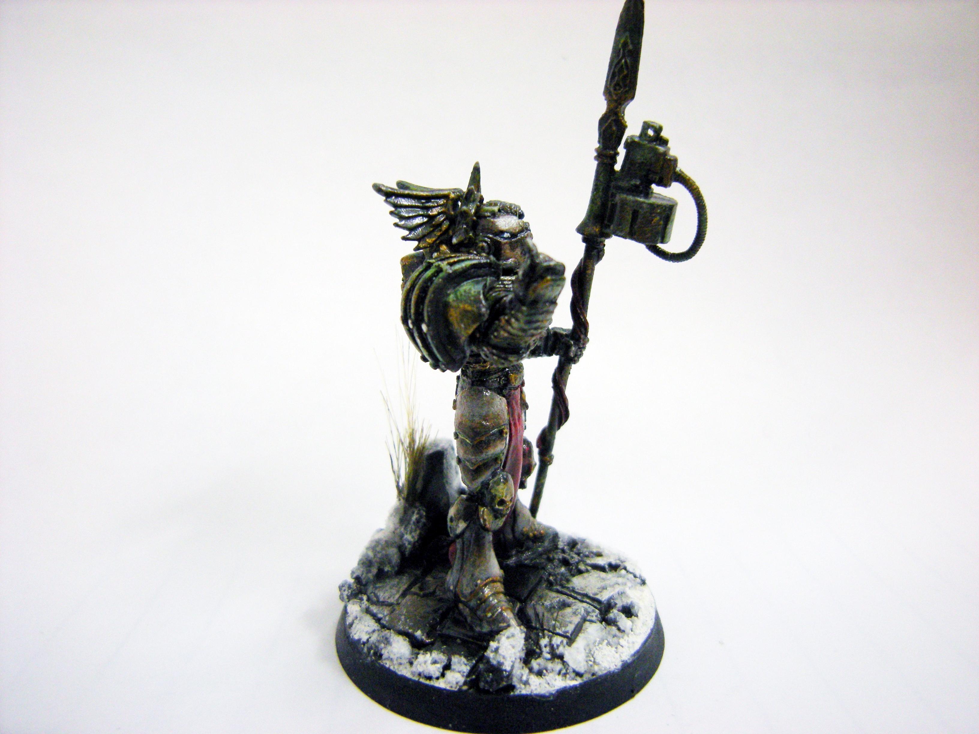 Cervantes, Chaos, Sinism, Sons Of Soloman, Sorcerer, Terminator Armor
