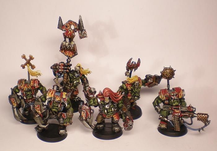 Nob, Orks, Power Klaw