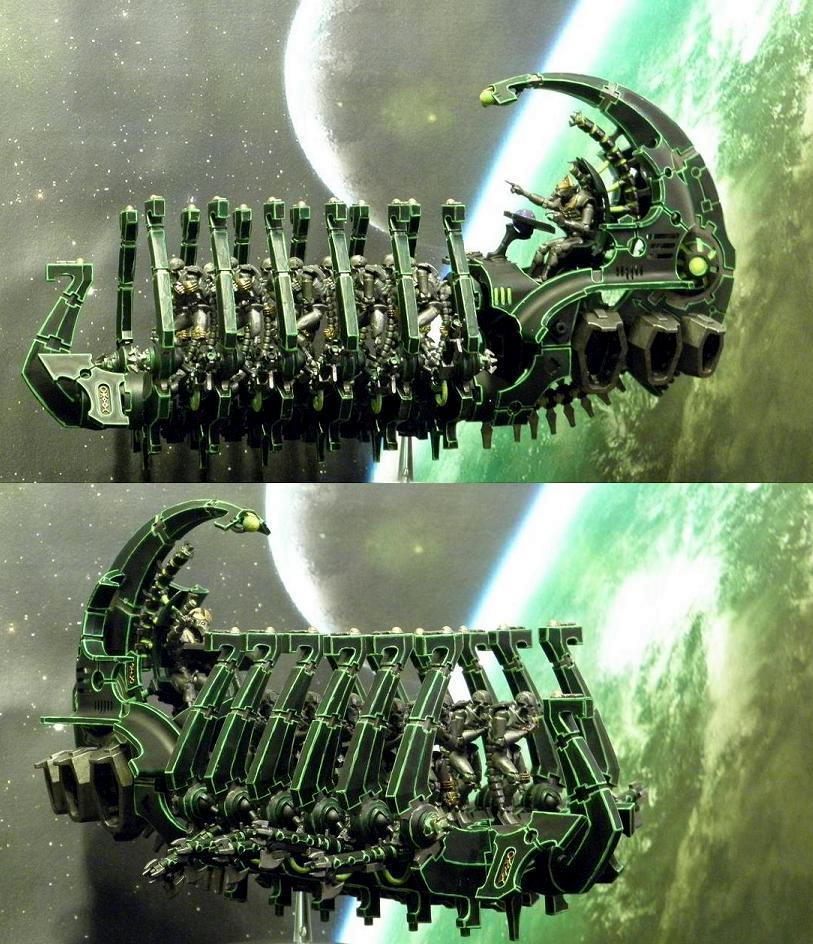 Ghost Ark, Necron Warriors, Necrons, Necrontyr, Quantum Shielding, Skimmer, Vehicle, Warhammer 40,000, Warhammer Fantasy