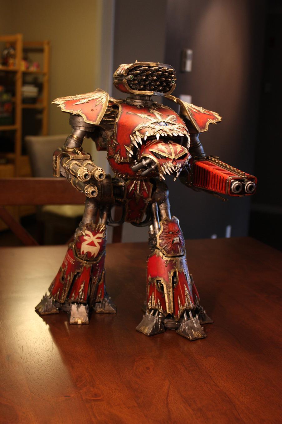 Chaos, Forge World, Reaver, Titan, Warhammer 40,000