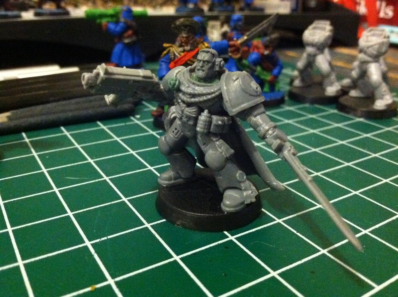 4th Company, Space Marines, Ultramarines, Work In Progress