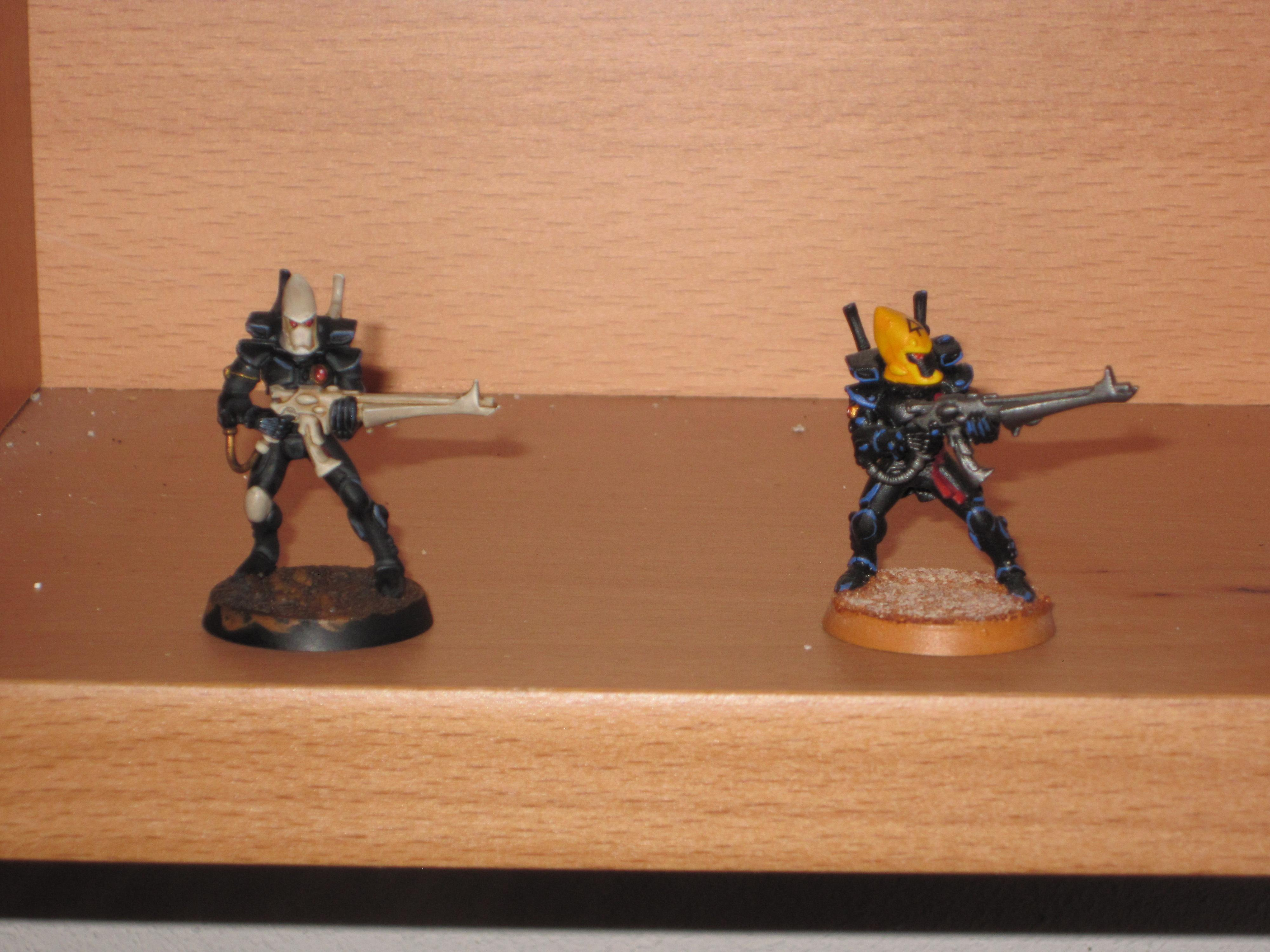 New wip Guardian on the left and old Guardian on the right