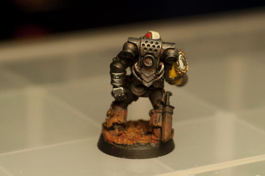 Deathwatch, Imperial Fists, Killteam