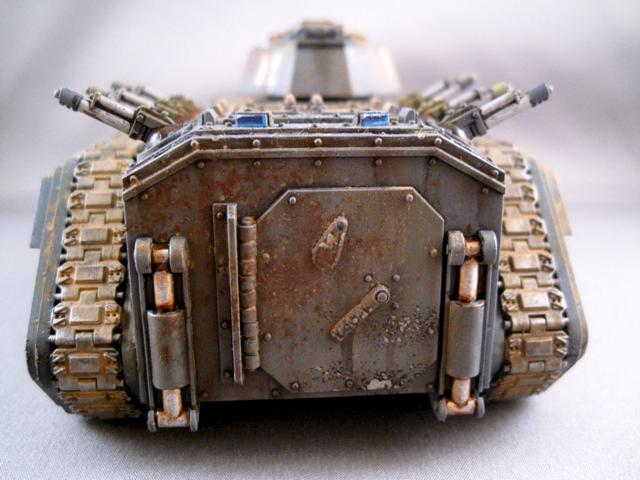 Airbrush, Ash Waste, Cadians, Chimera, Imperial Guard, Oil Color, Pigment, Weathered
