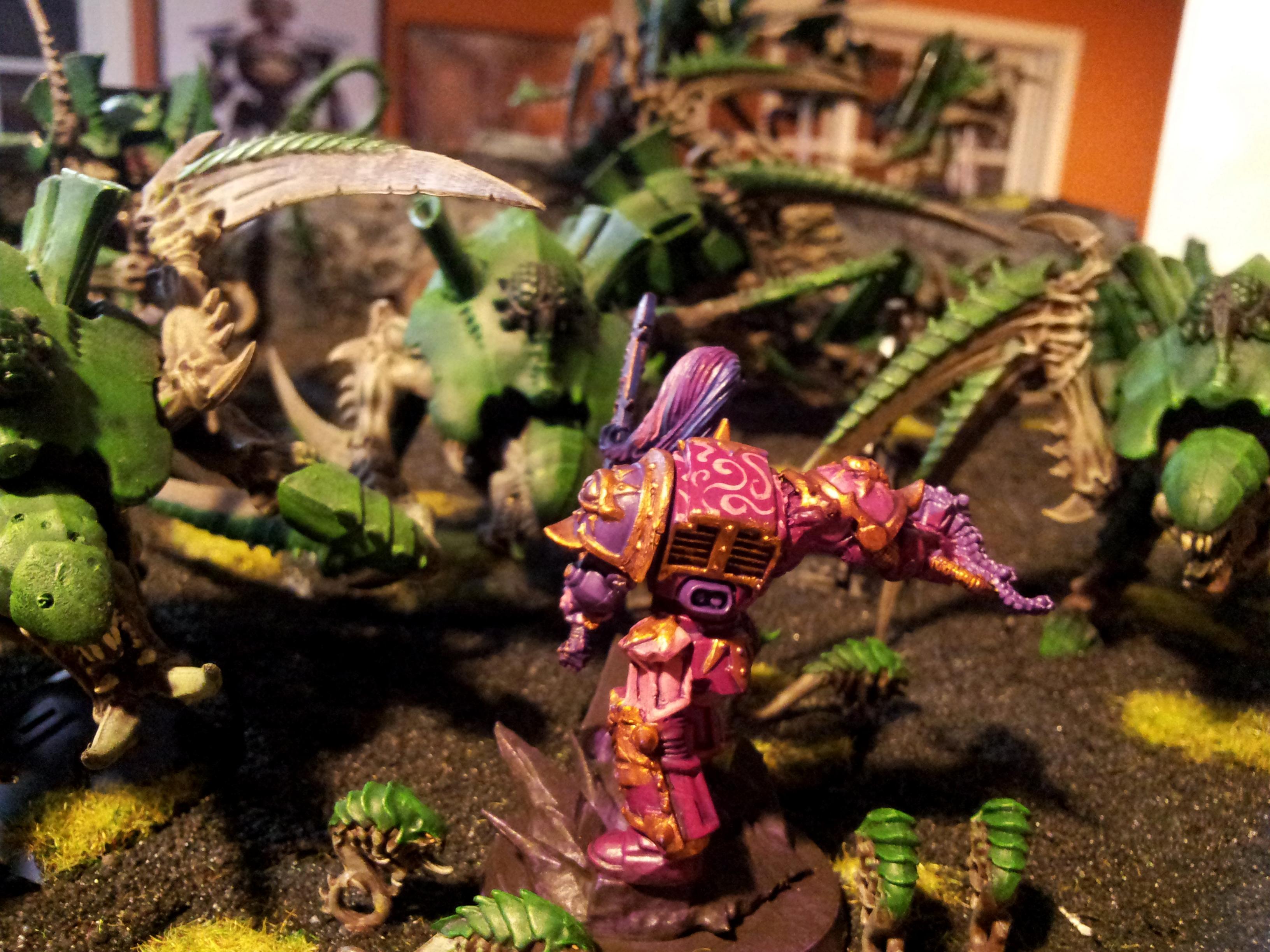 Slaanesh, Terminator Armor, Tyranids