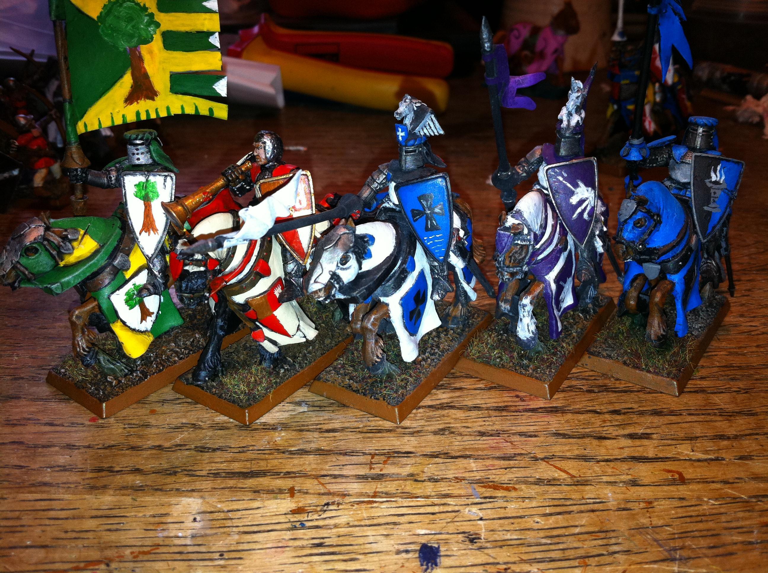 Archers, Arms, At, Bretonnians, Brets, Brettonnia, Damsel, Duke, Horses, Knights, Lord, Men, Paladin, Peasants, Warhammer Fantasy, Whf