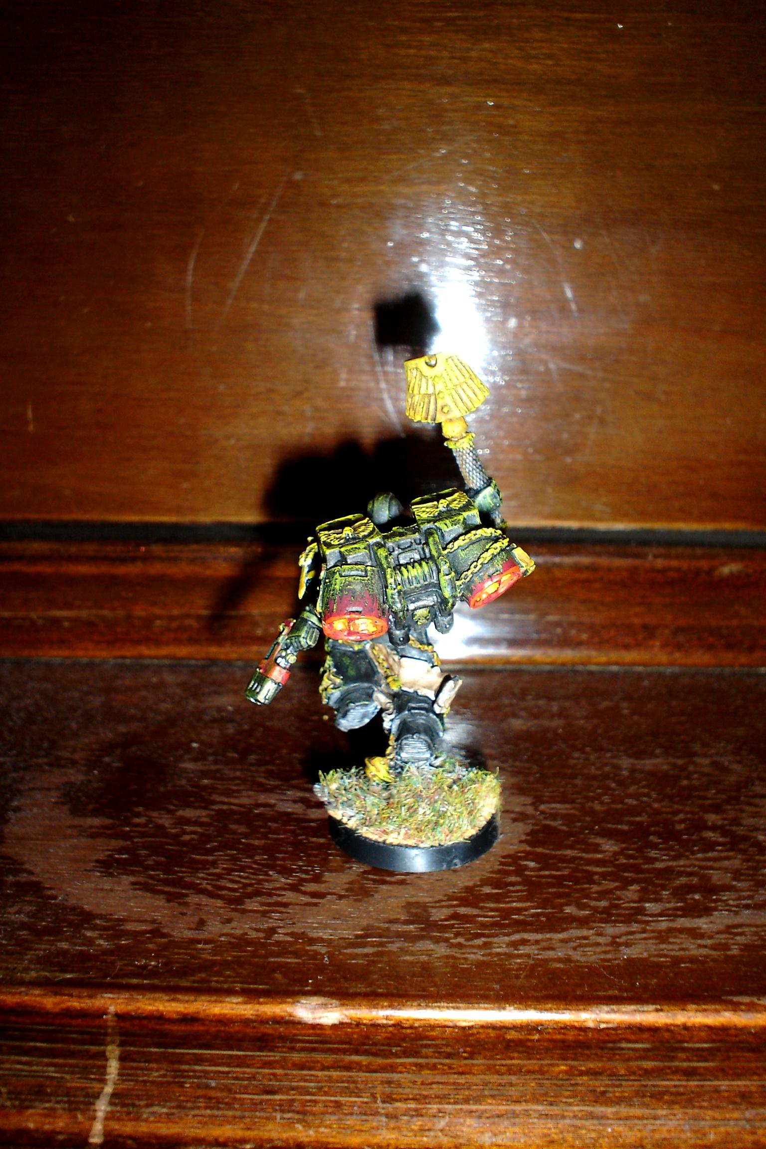 Chaplain W Jumppack, 1st attemt