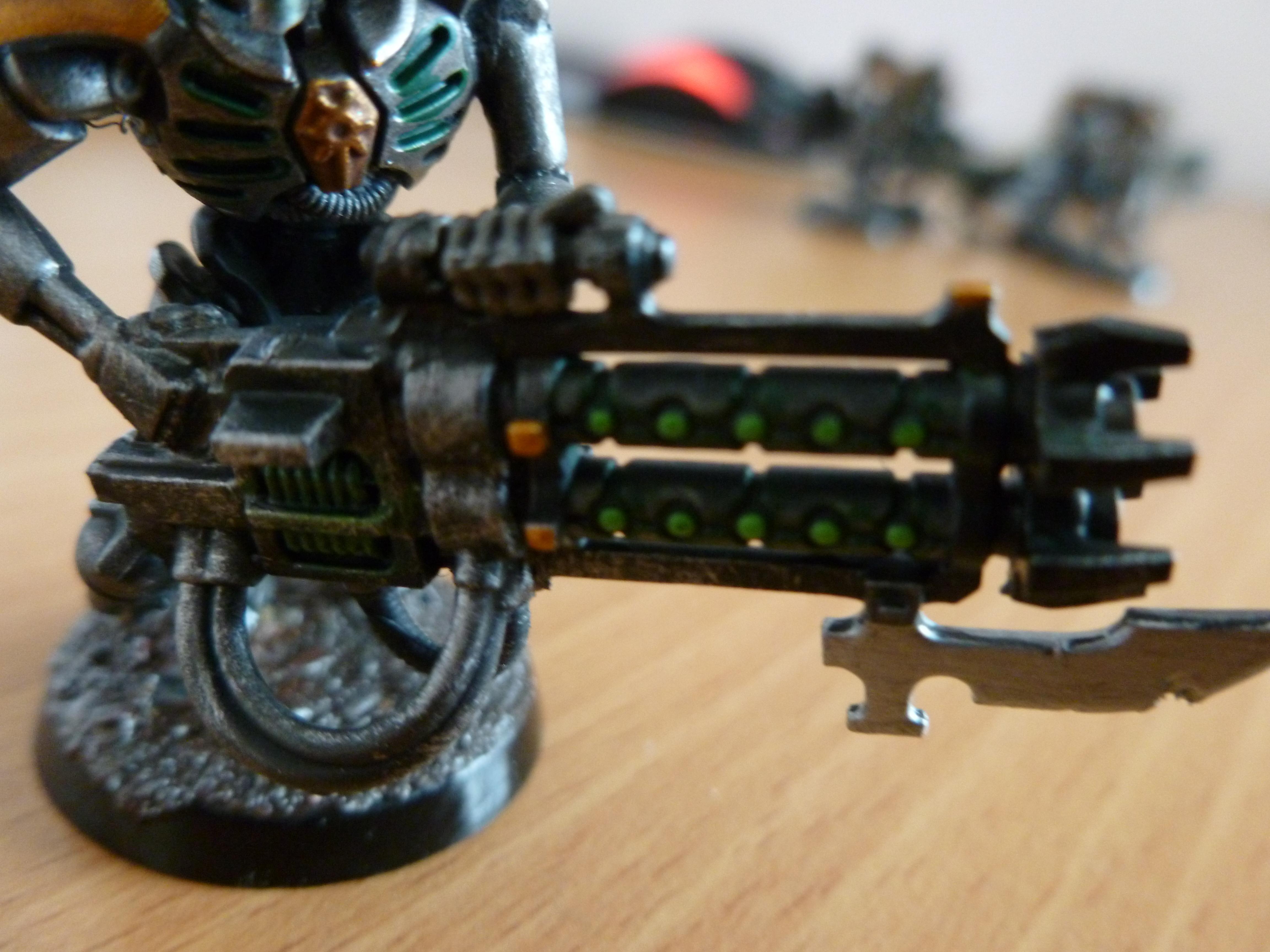 Gauss Blaster, Green, Gun, Shooting