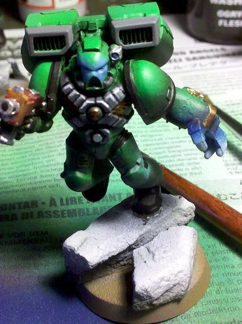 Green Marine, Object Source Lighting, Power Fist