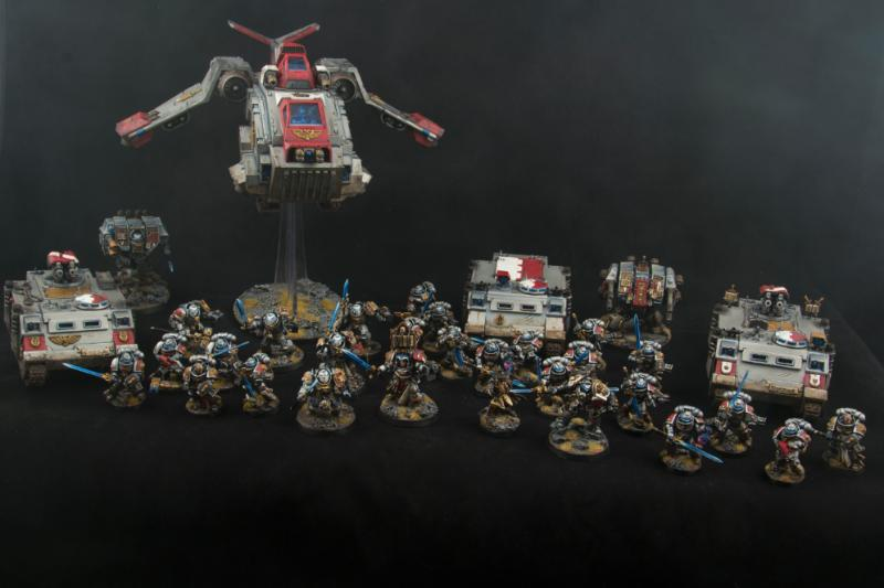 Army, Grey, Knights, Warhammer 40,000