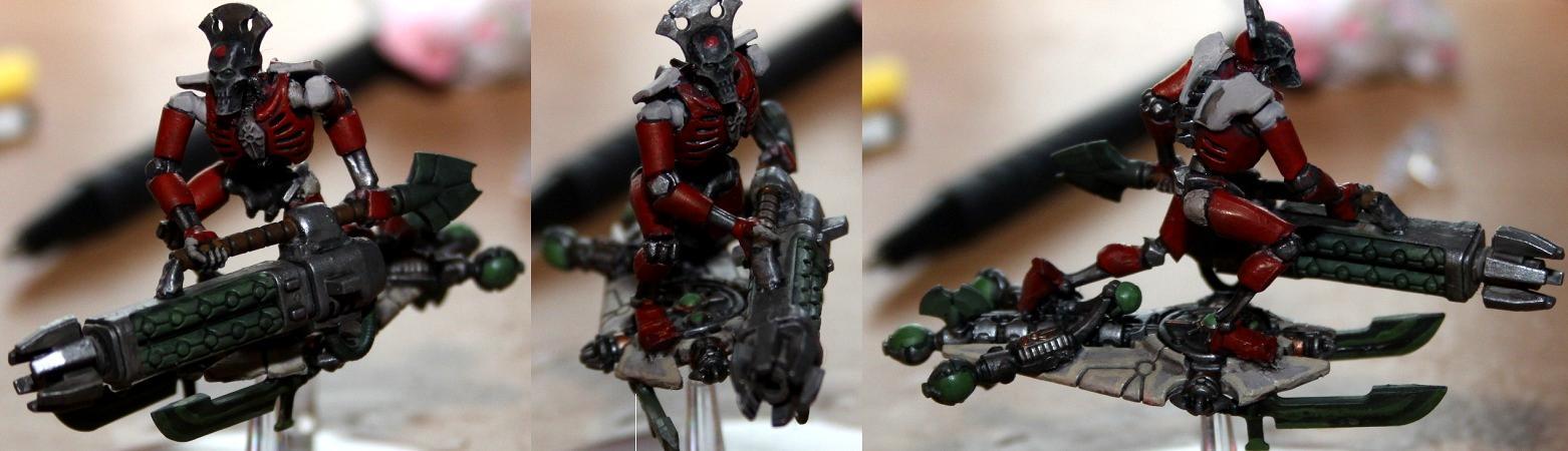 Necrons, Tomb Blade, Work In Progress