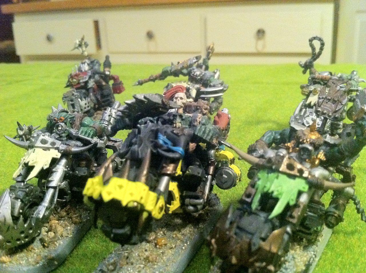 Orks, Snakebite, Warbiker, Warhammer 40,000