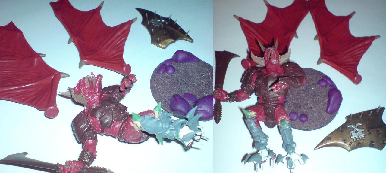 Assemble images, the wings and shield are magnetized