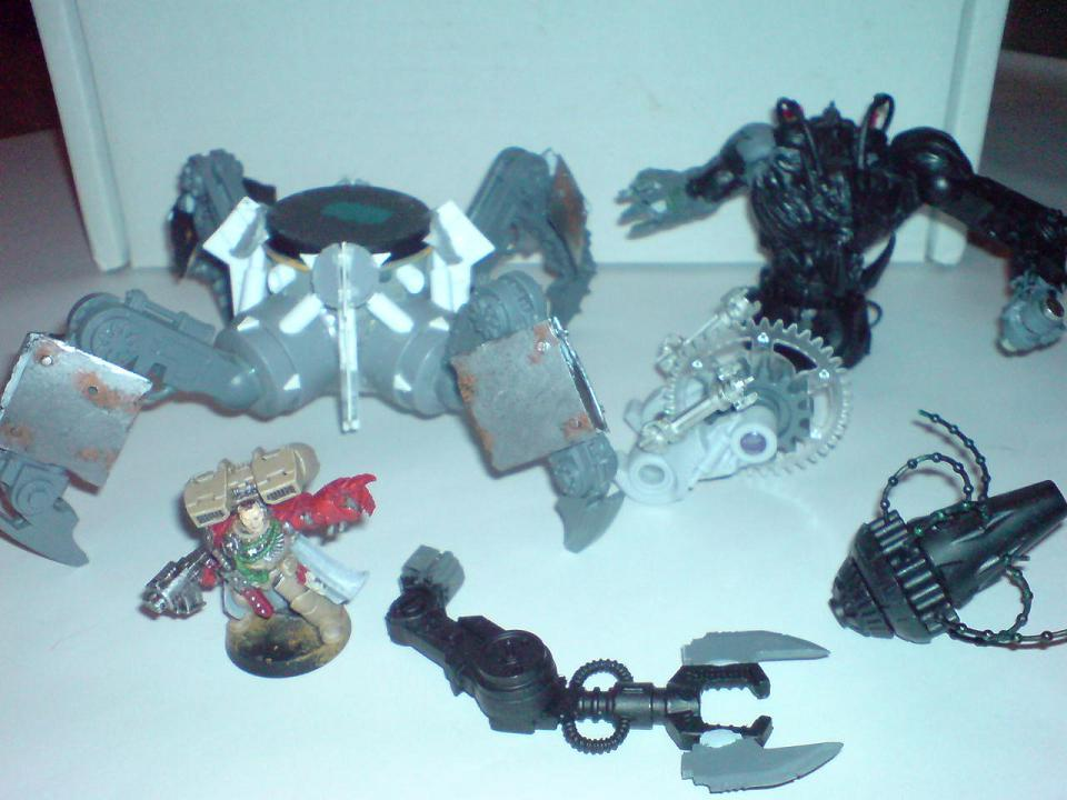 Some plasti-card work done, a few indicative parts temporarilly attached