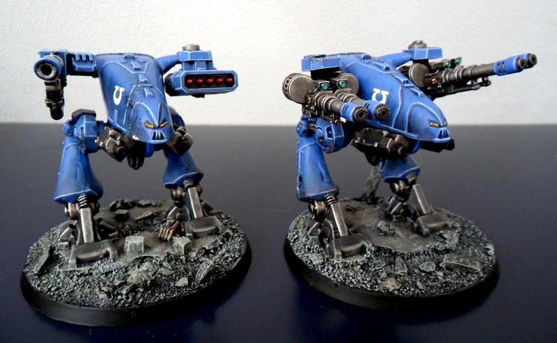 Dreadnought, Out Of Production, Rogue Trader, Space Crusade, Warhammer 40,000