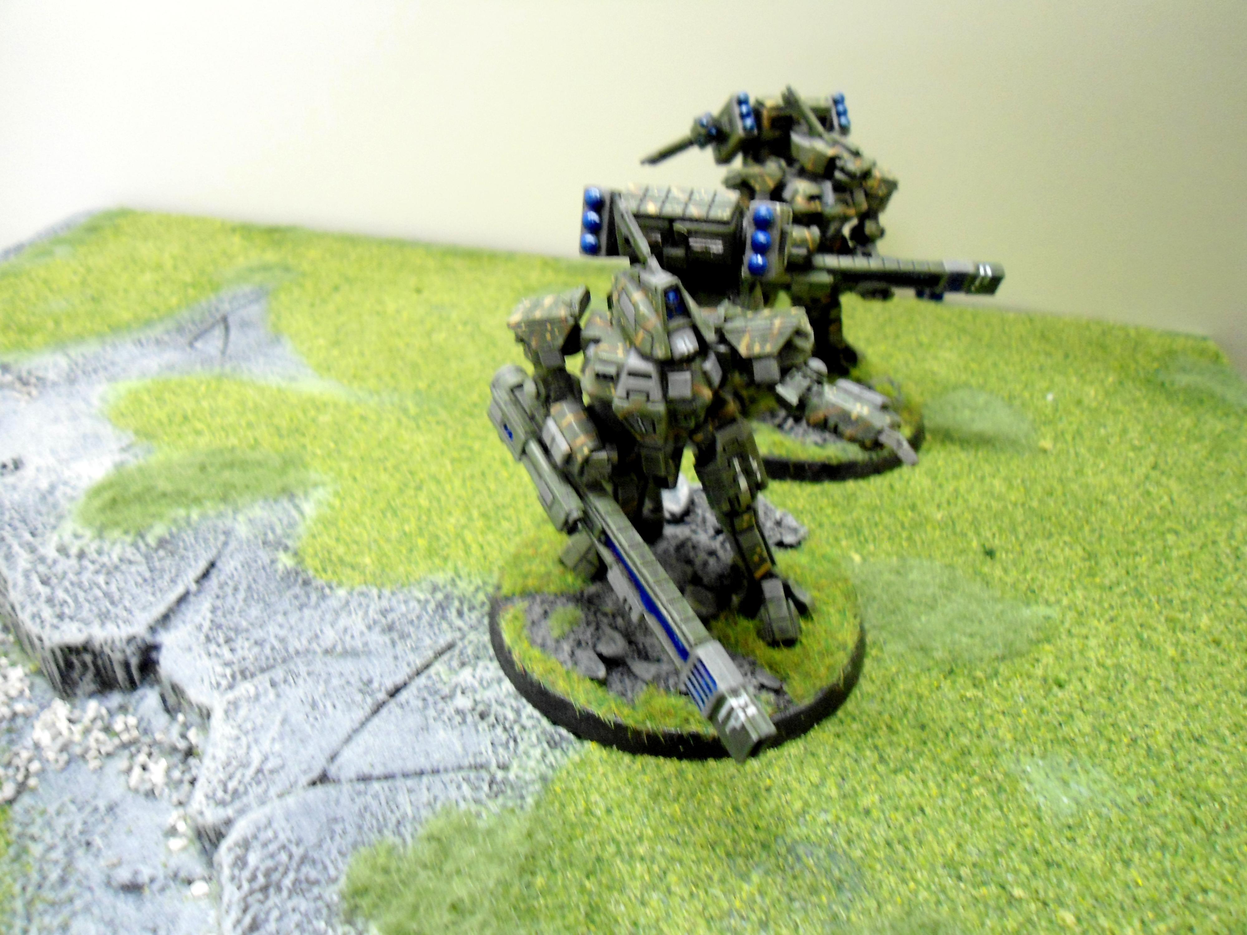 Battlesuit, Conversion, Crisis To Broadside Conversion, Tau, Warhammer 40,000