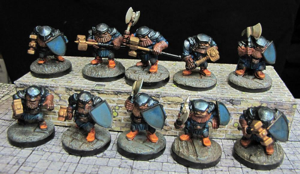 Dwarves, Ironclad, Kings Of War, Mantic, Shieldbreaker, Warhammer Fantasy, Warpath
