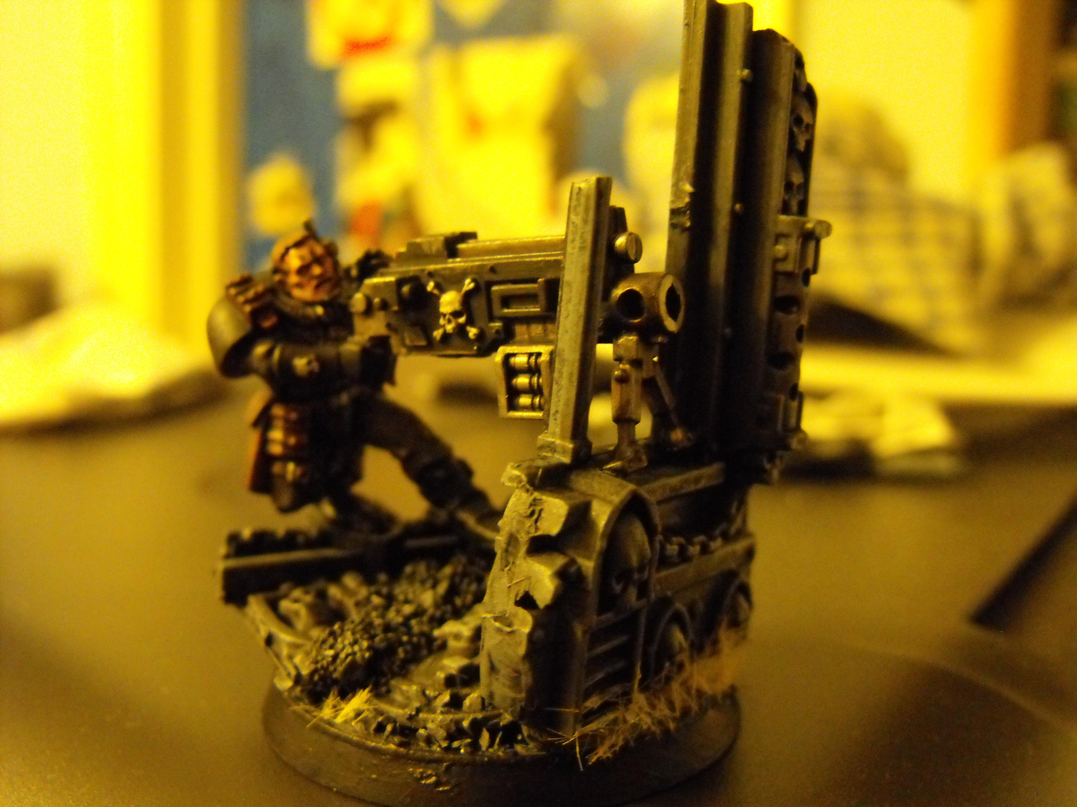 heavy bolter scout