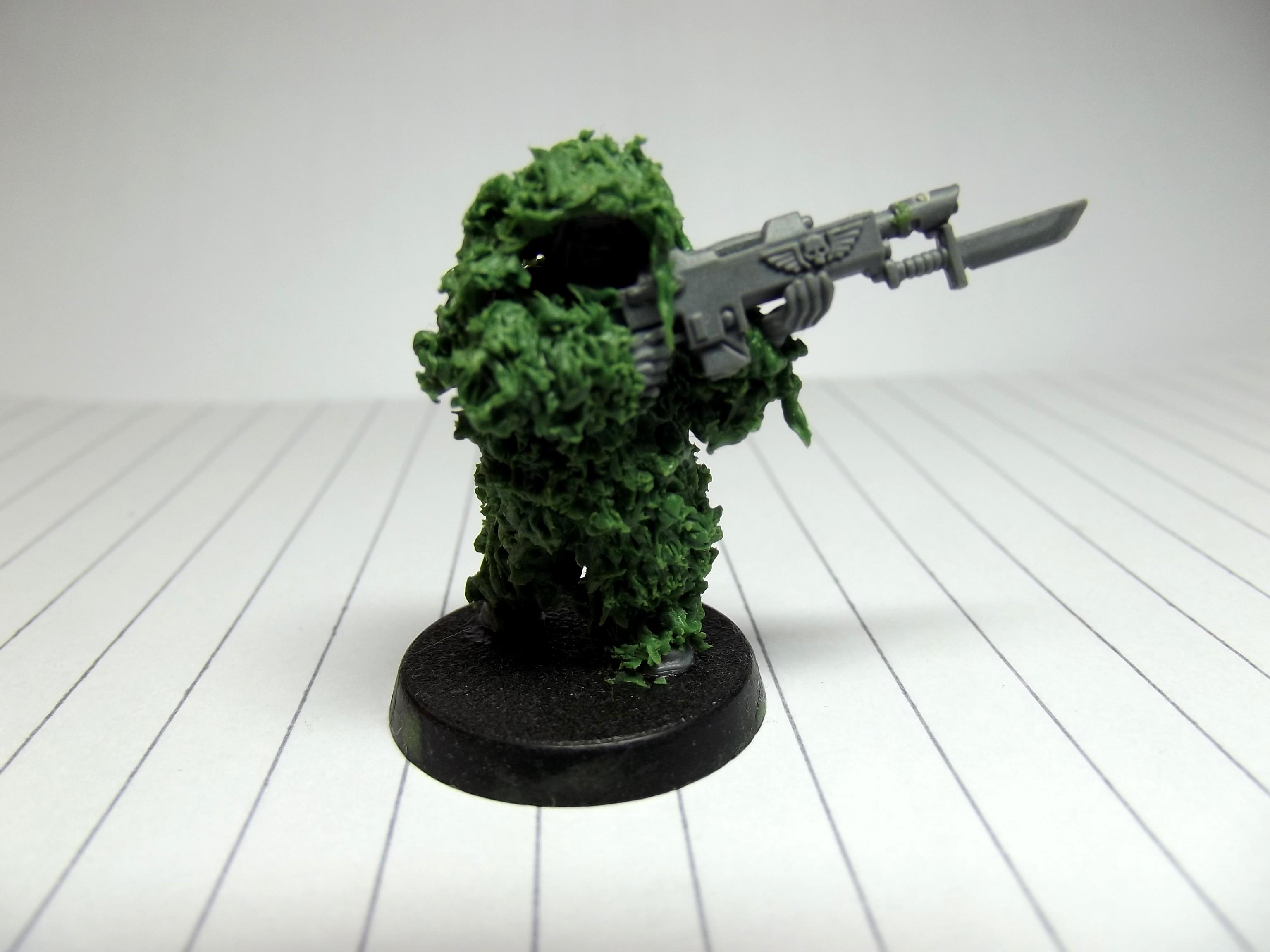 Camouflage, Ghillie, Imperial Guard, Snipers, Veteran