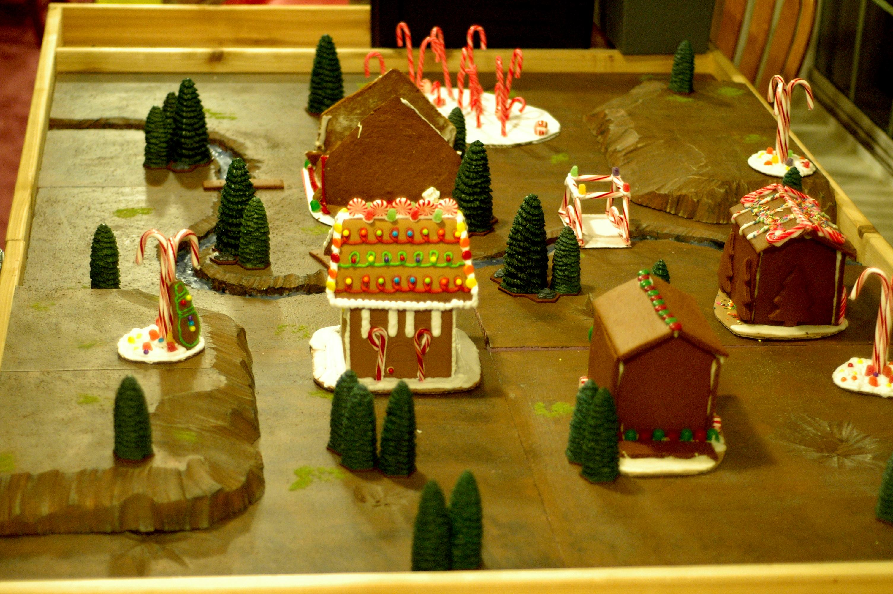 Battle Report, Board, Buildings, Christmas, Game Table, Nom Nom Nom, Terrain