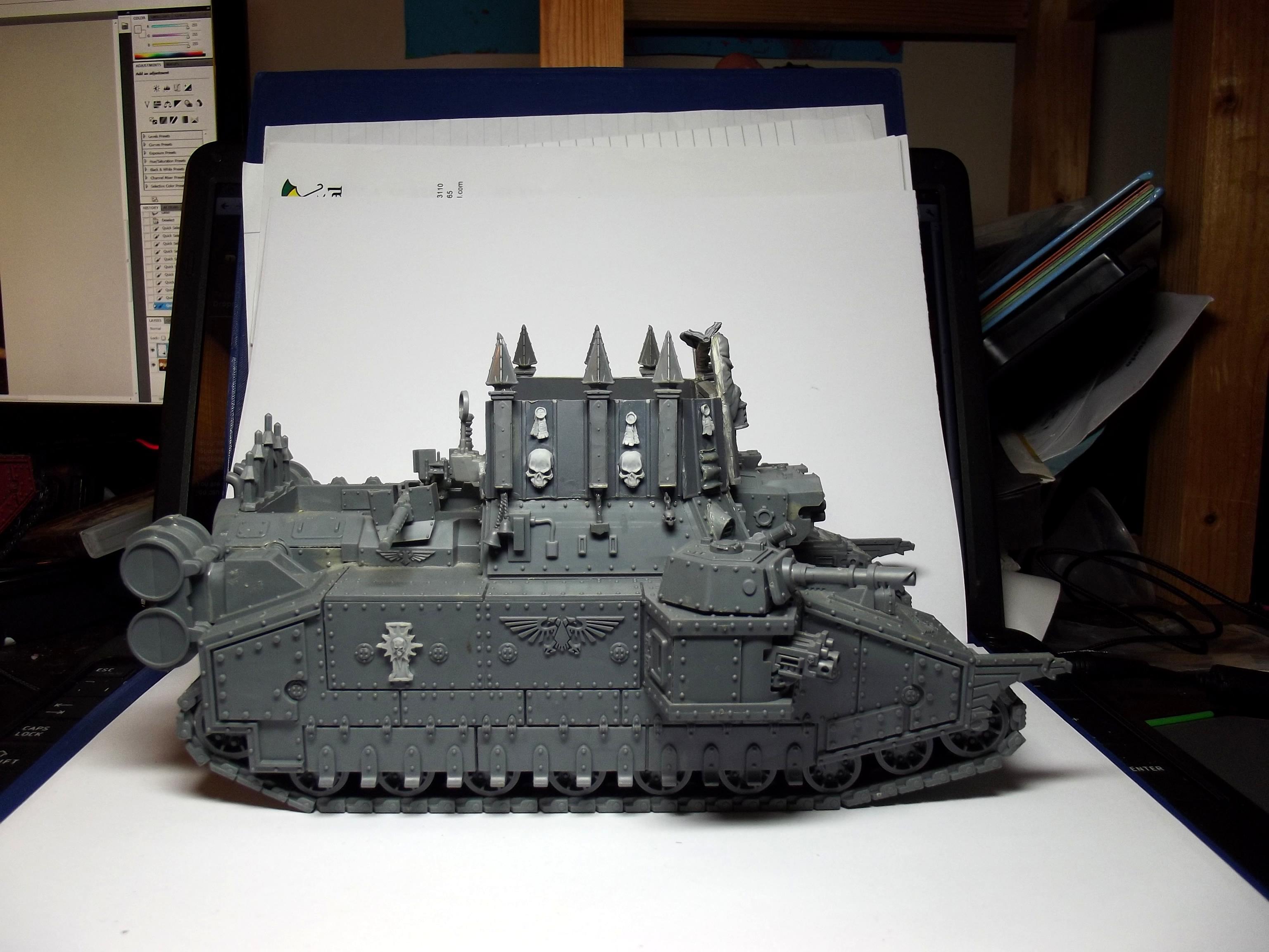 Kit Bash, Sisters Of Battle, Super-heavy, Tank