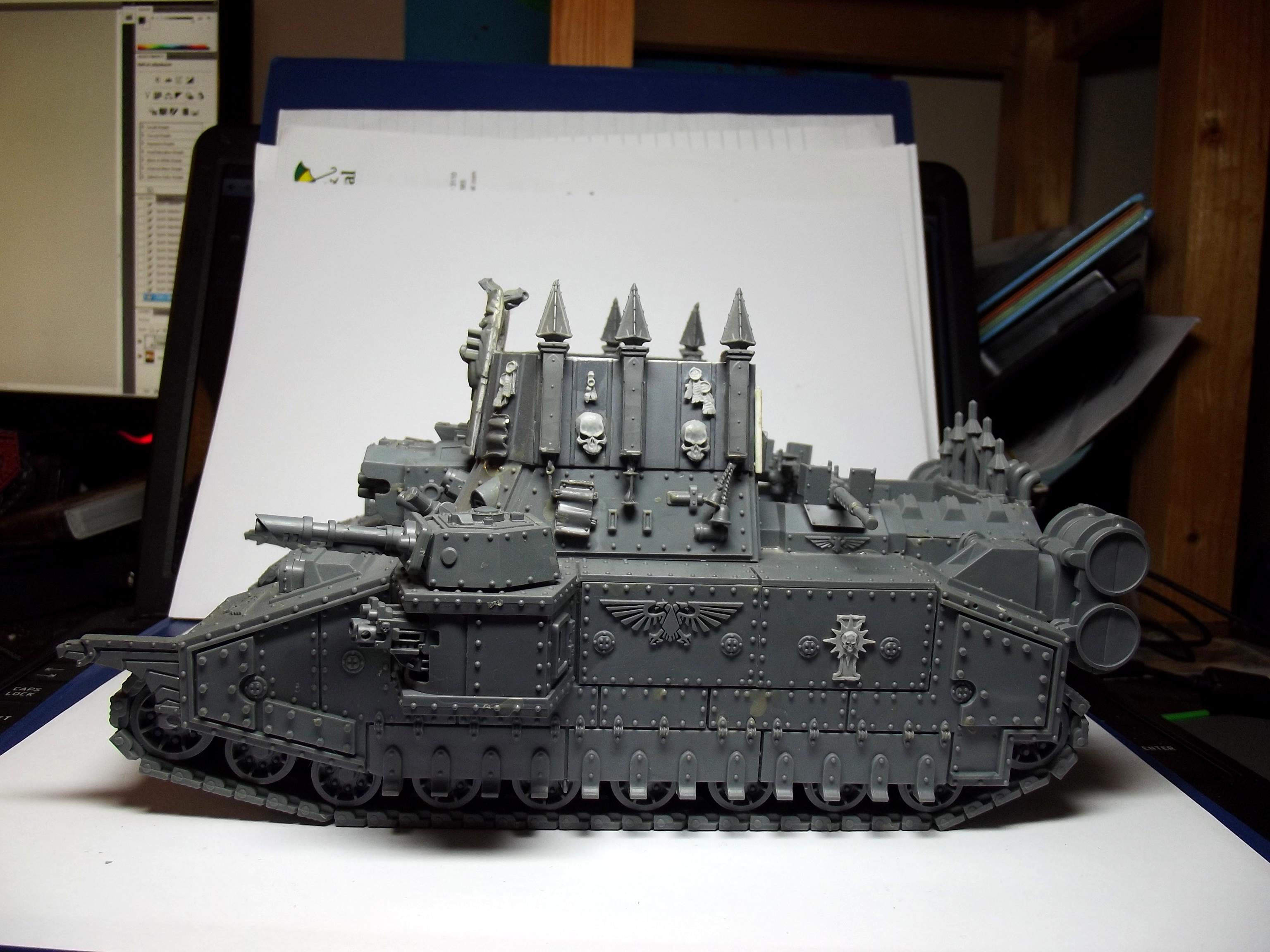 Kit Bash, Sisters Of Battle, Super-heavy, Tank