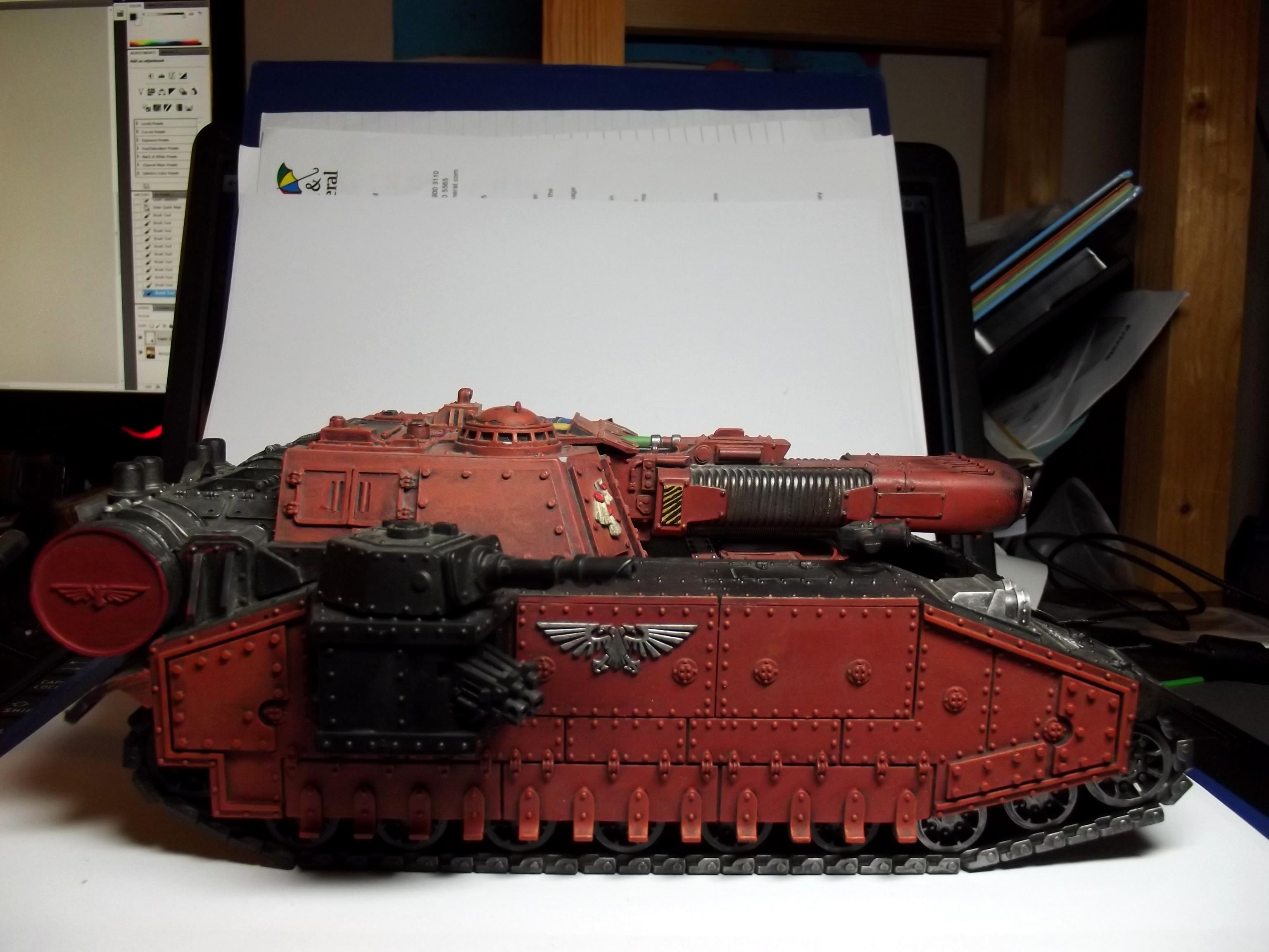 Stormblade, Super-heavy, Tank