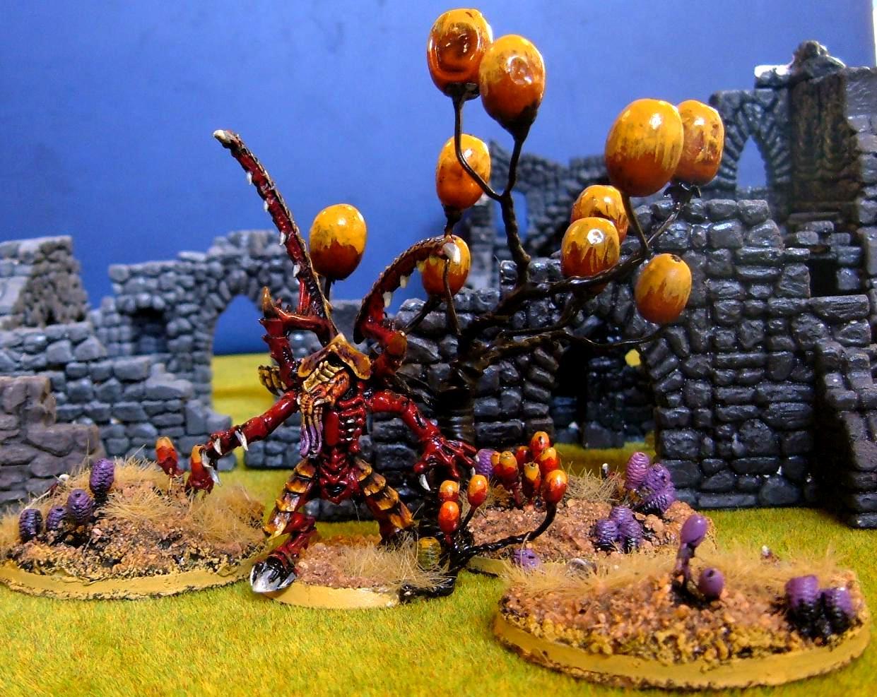 Event, Fungus, Hunter-killer, Lictor, Ruins, Tournament, Tyranids, Warhammer 40,000, Wild Grass, Wildgrass, Wildgrss