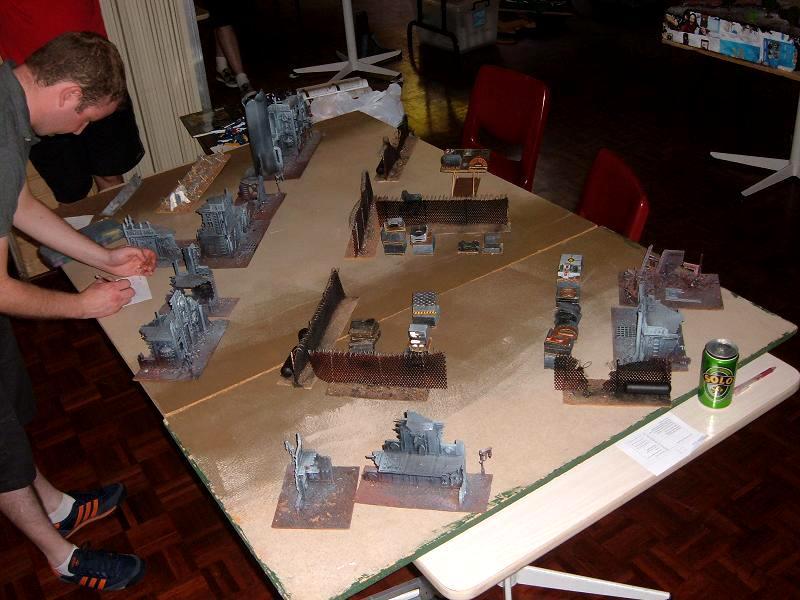 Event, Fences, Gamer's Guild, Junk, Junkyard, Ruins, Terrain, Tournament