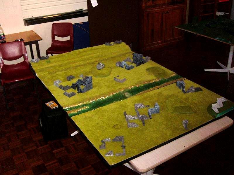 Ditch, Event, Fields, Gamer's Guild, Hills, Ruins, Terrain, Tournament