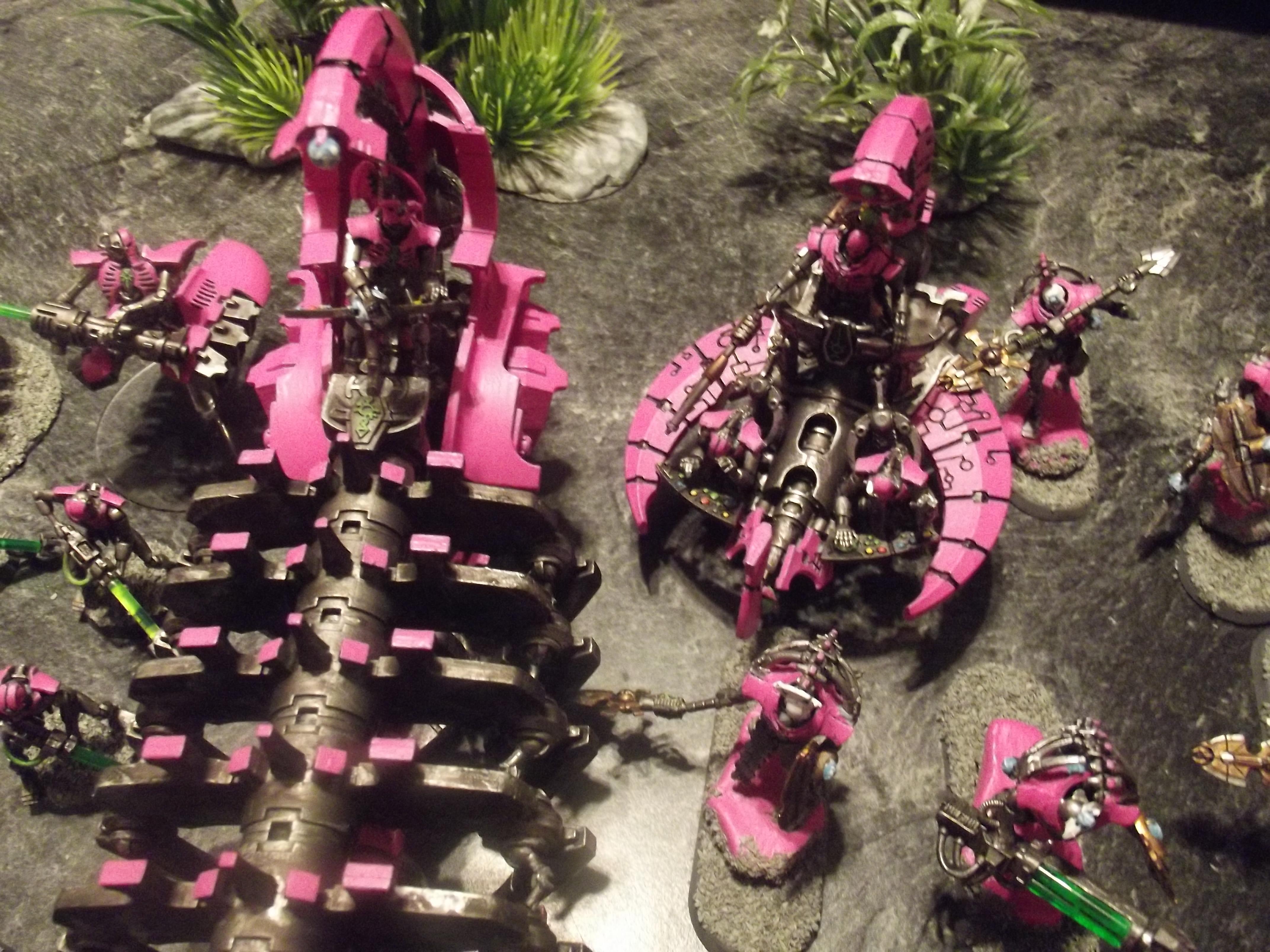 Annihilation, Army, Barge, Command, Detail, Necrons, Pink, Warhammer 40,000