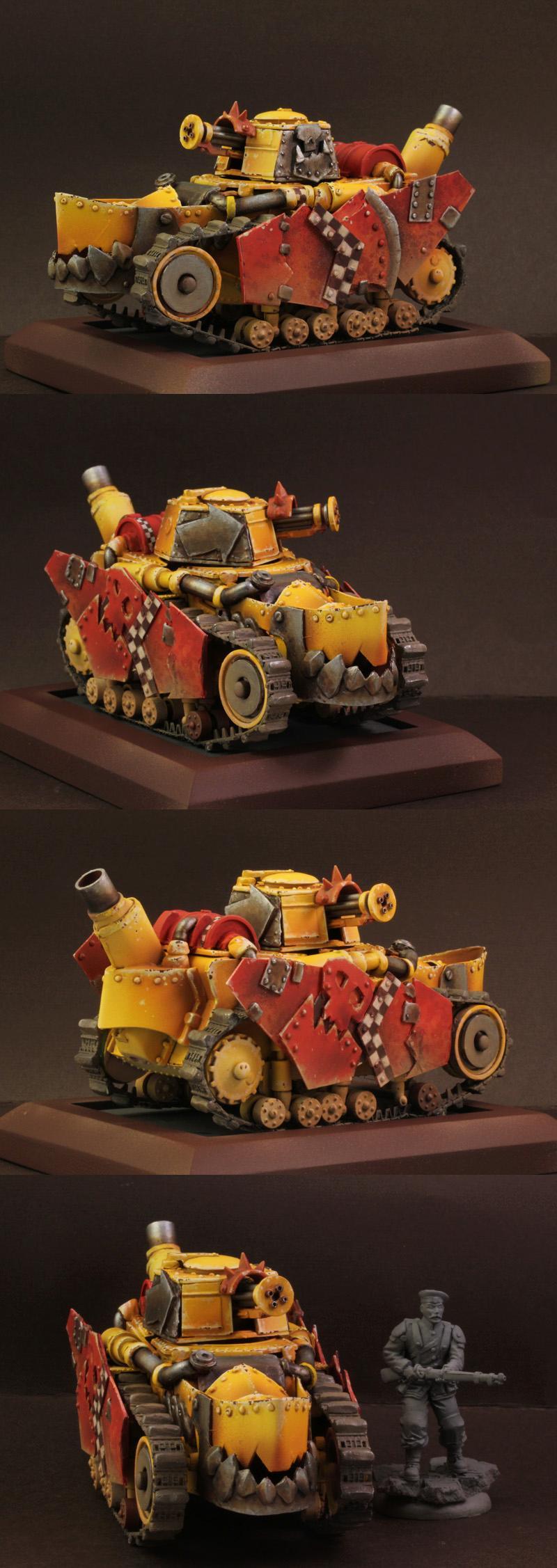 Orcs, Orks, Tank, Vehicle