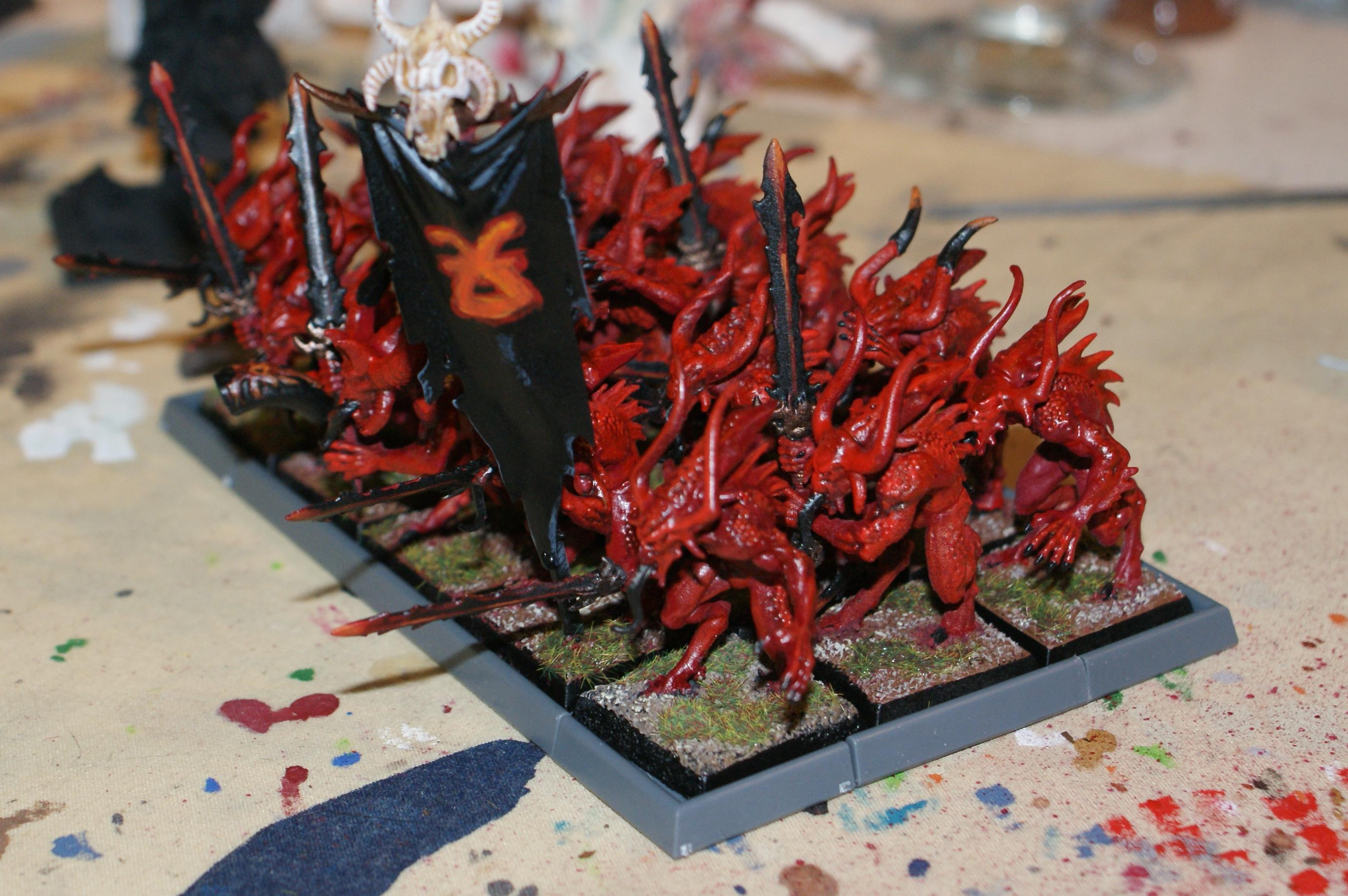Bloodletters Of Khorne, Work In Progress