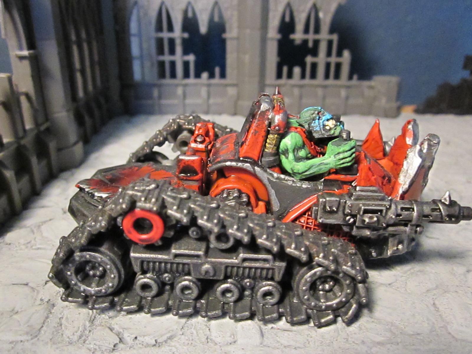 Buggy, Trakk, Warbuggy, Wartrakk