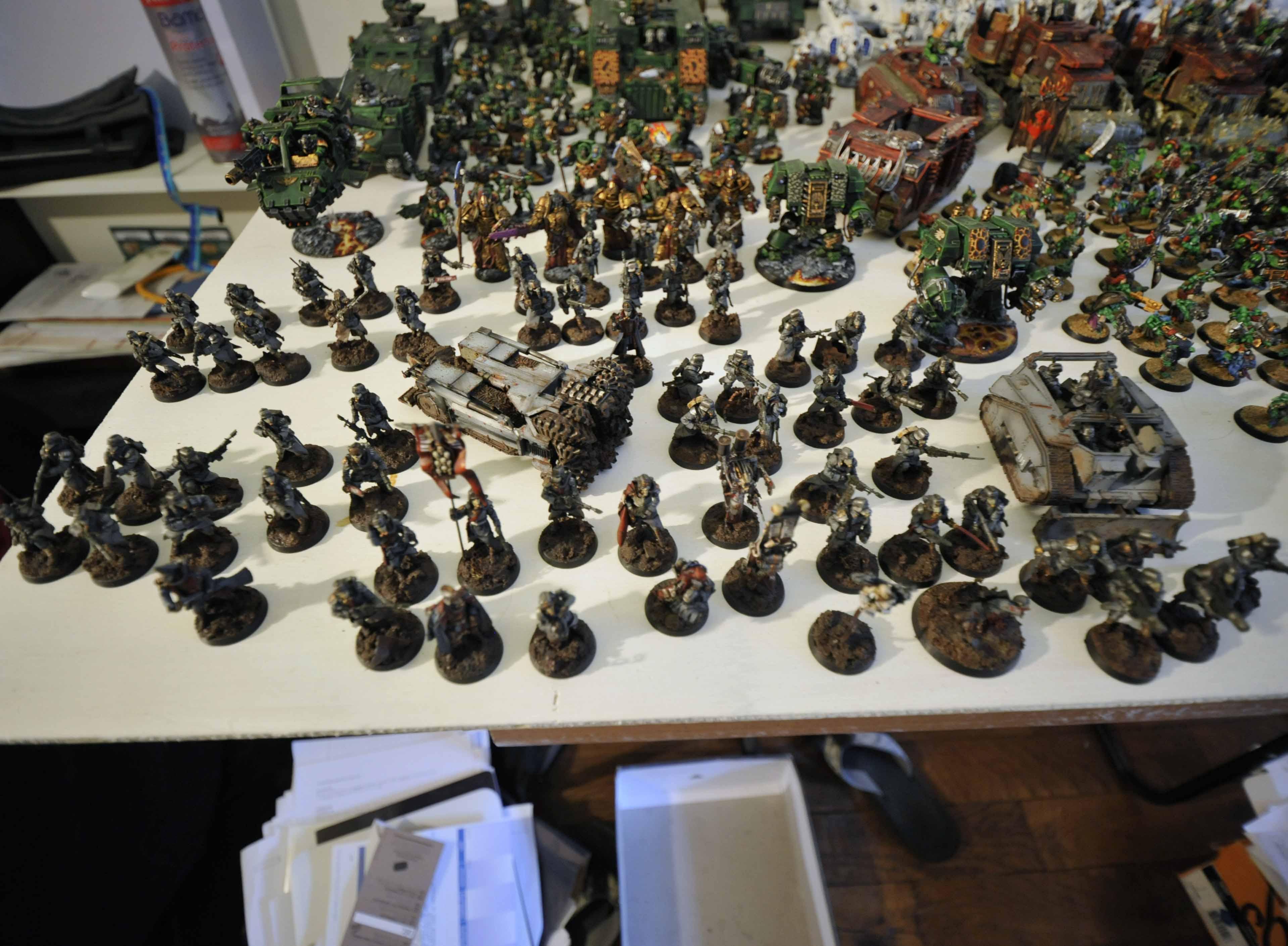 All, Death, Korps, Kreig, Work In Progress