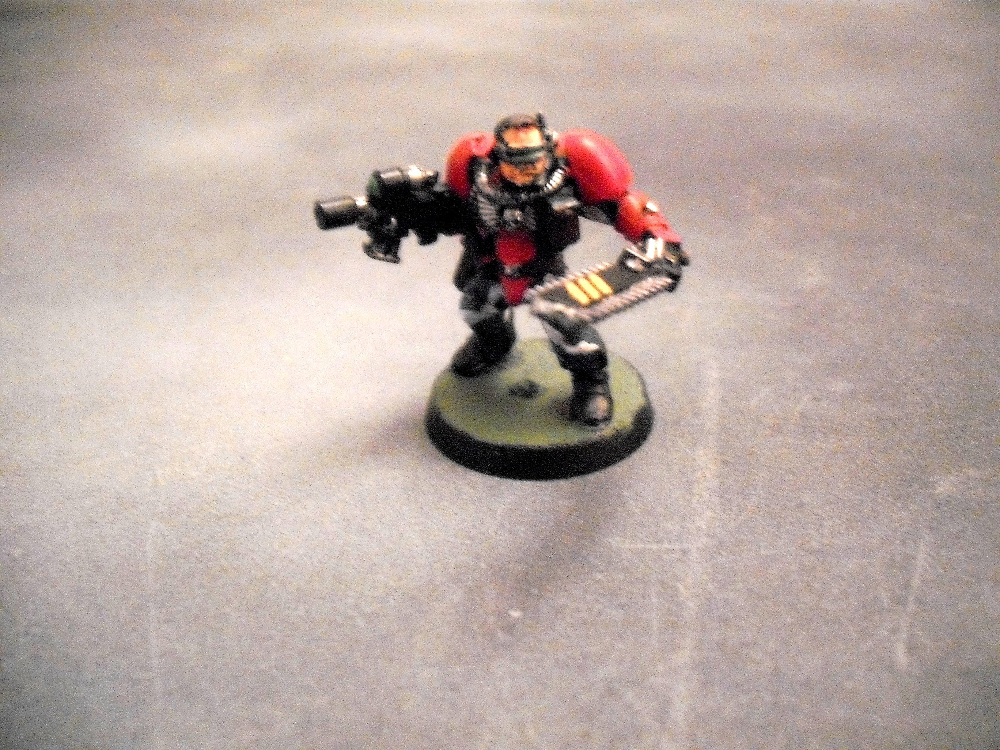Blood Angels, Scouts, Sergeant, Streetfighters