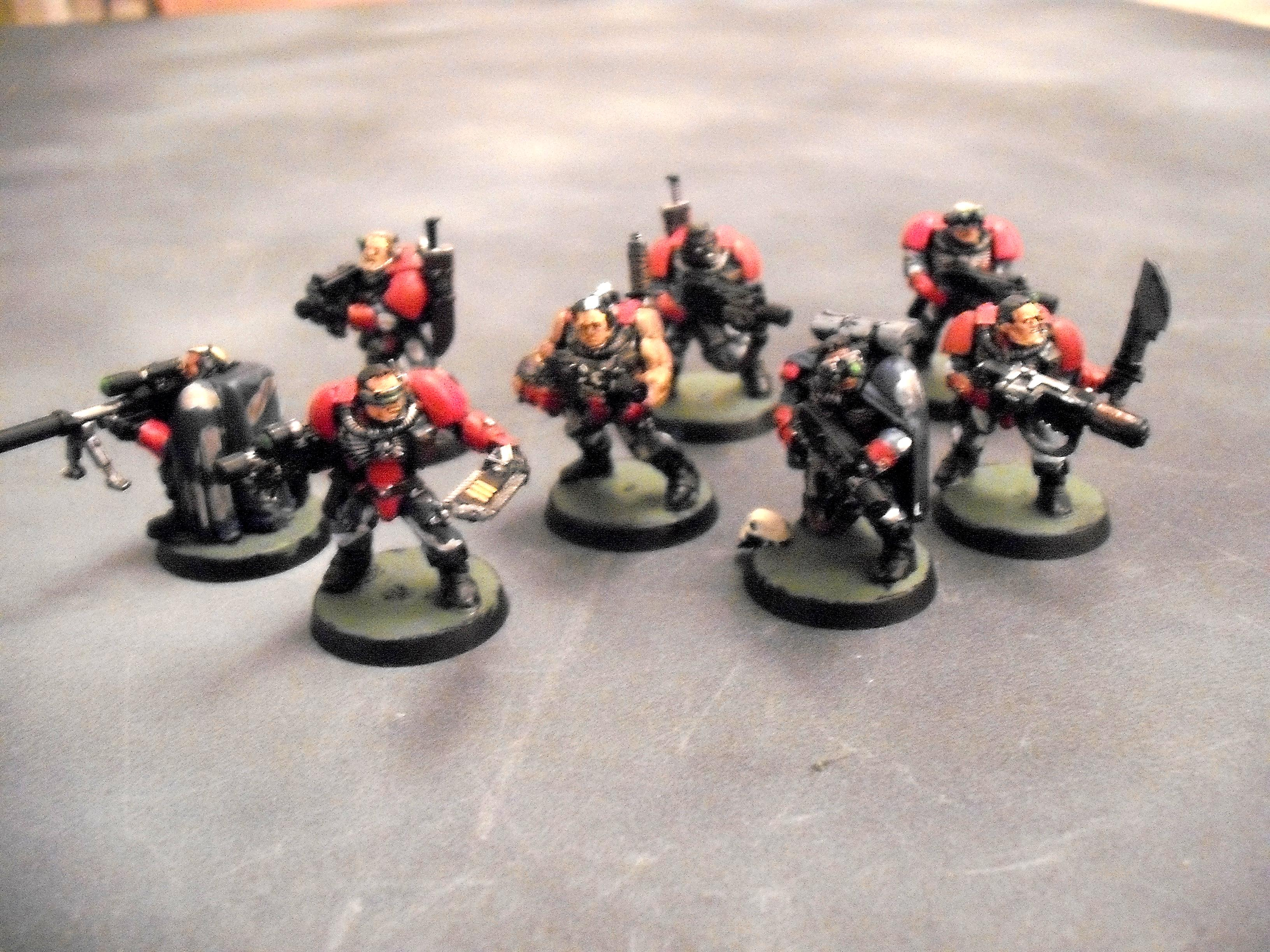 Blood Angels, Drakeslayer, Scouts, Streetfighters, Warhammer 40,000