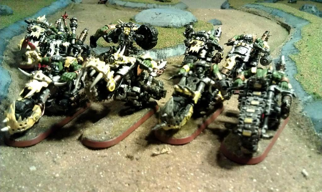 Bad Moons, Orks, Warbikers, Warhammer 40,000