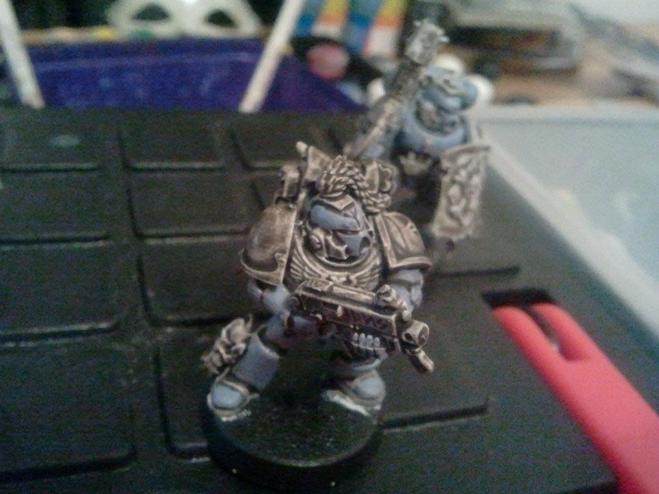 Base Coat, Space Marines, Space Wolves