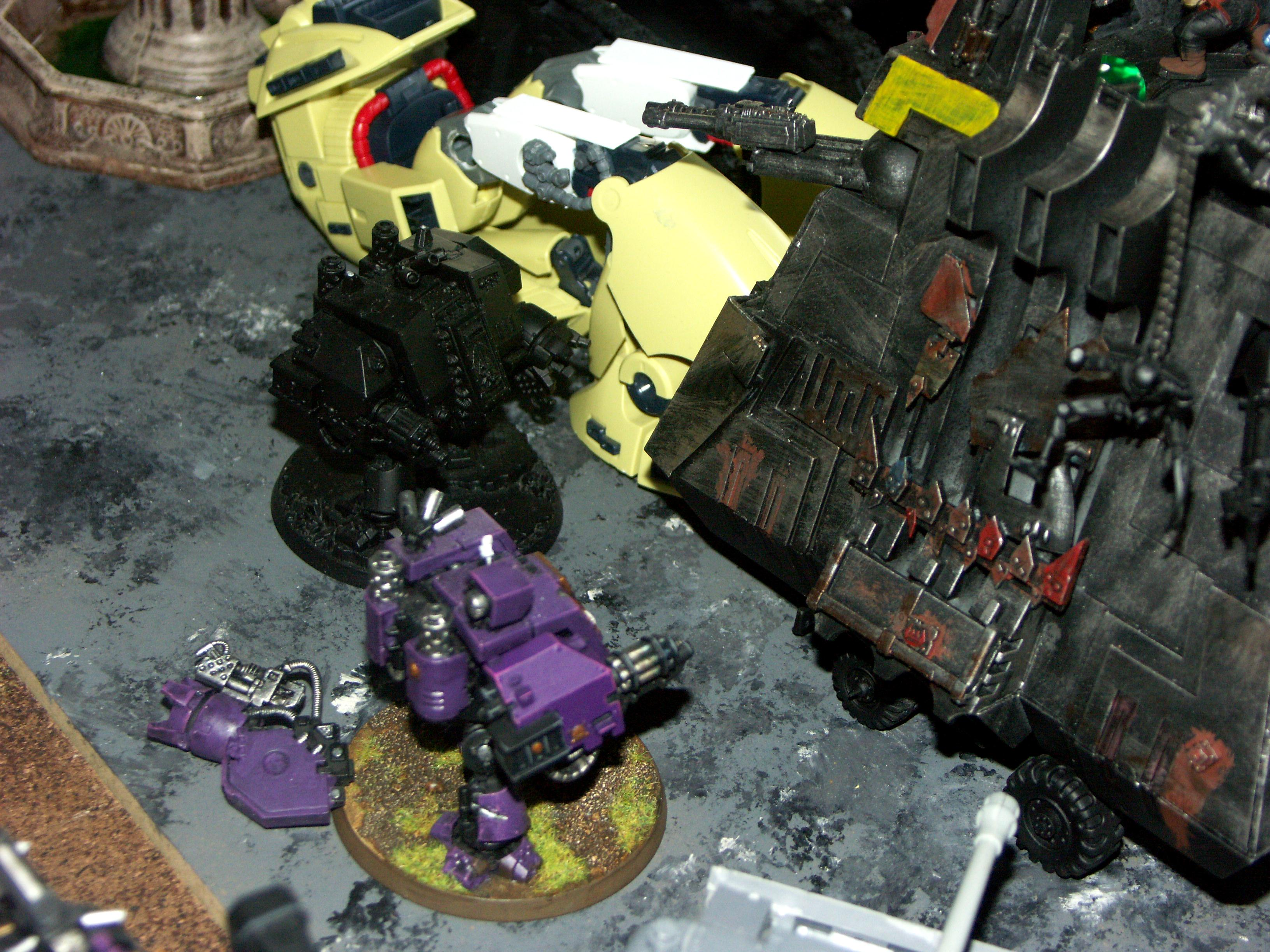 Apocalypse, Battle, Battle Report, Black Templars, Chaos, Dark Eldar, De, Orks, Space Marines